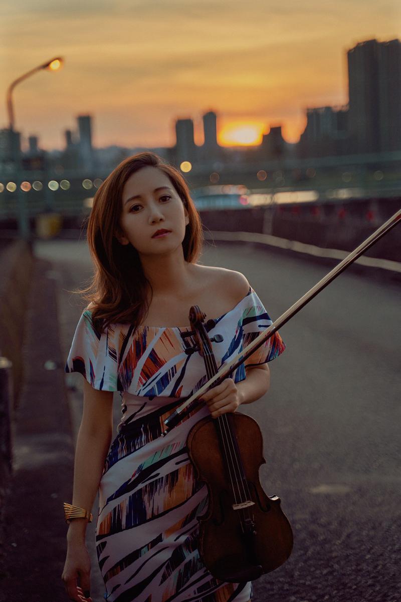 跨界小提琴家蘇子茵。