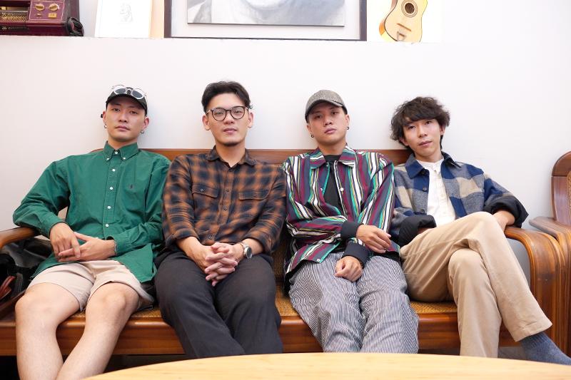 「唐貓SUGARCAT」(左起)高真、三智、阿蘭、少瑜。