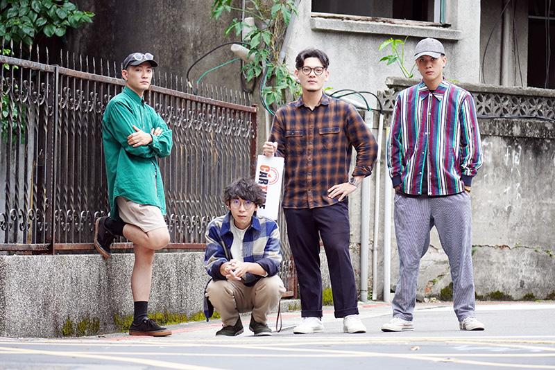 「唐貓SUGARCAT」(左起)高真、少瑜、三智、阿蘭。