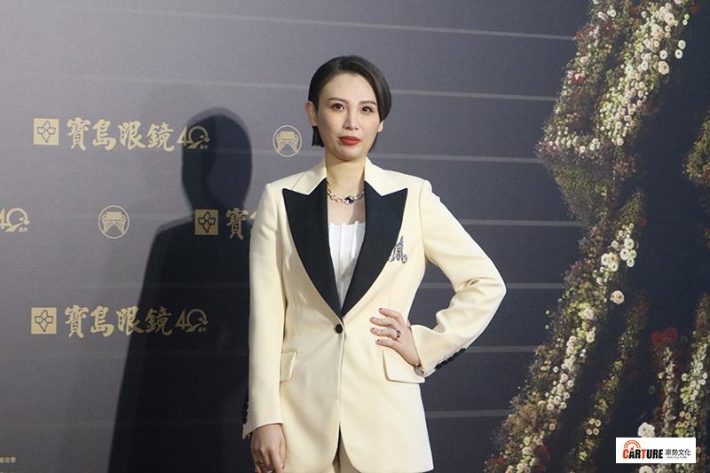 《第31屆金曲獎》星光大道-魏如萱。