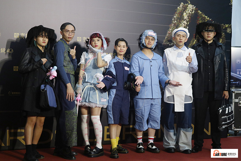 《第31屆金曲獎》星光大道-海豚刑警。