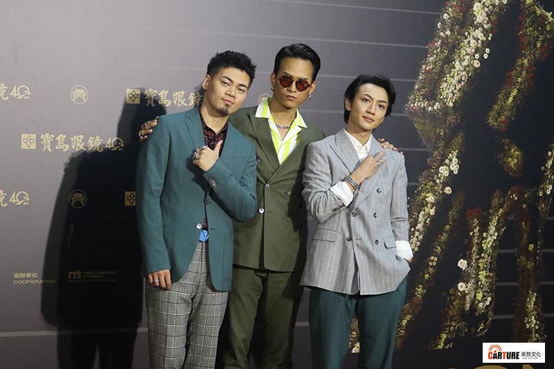 《第31屆金曲獎》星光大道-茄子蛋。