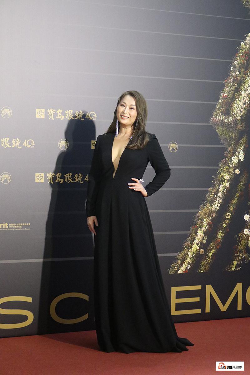 《第31屆金曲獎》星光大道-王瑞霞。