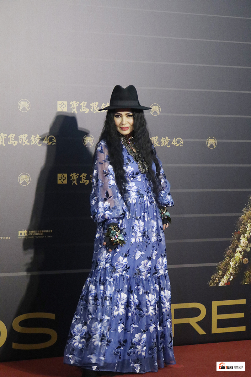 《第31屆金曲獎》星光大道-潘越雲。