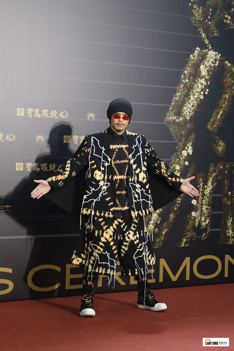 《第31屆金曲獎》星光大道-黃明志。