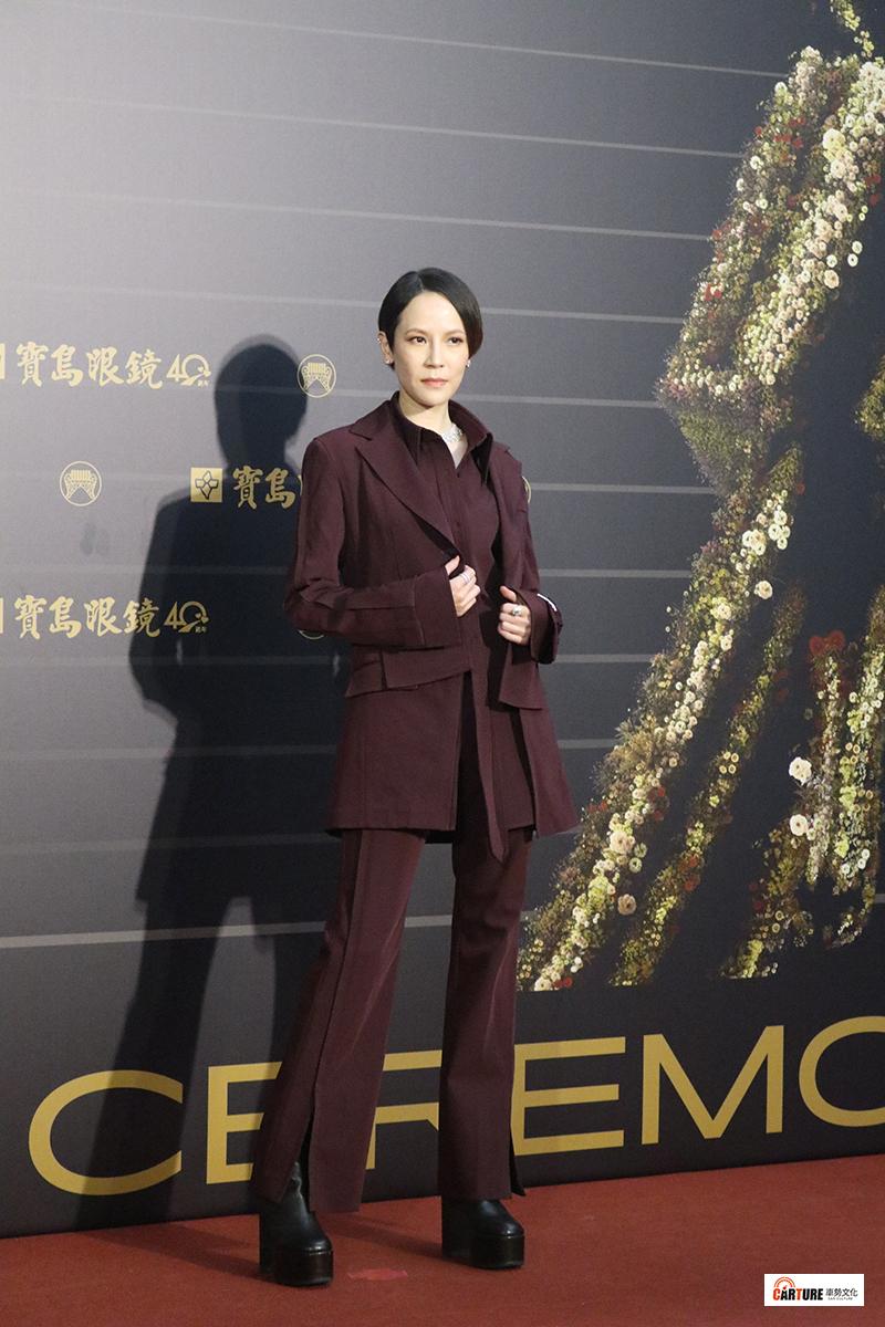 《第31屆金曲獎》星光大道-楊乃文。