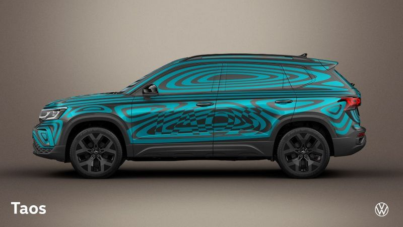 Volkswagen Taos車身長度為4,425mm。