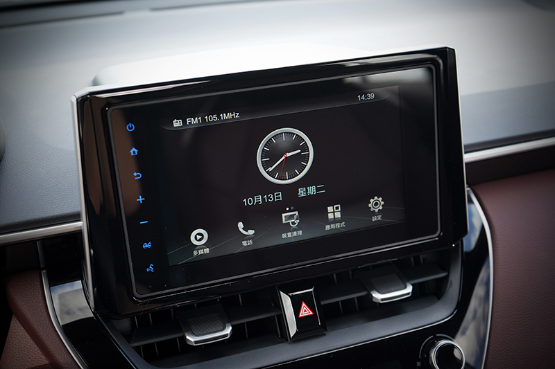 8吋Wi-Fi智聯車載系統在豪華等級車型以上為標準配備