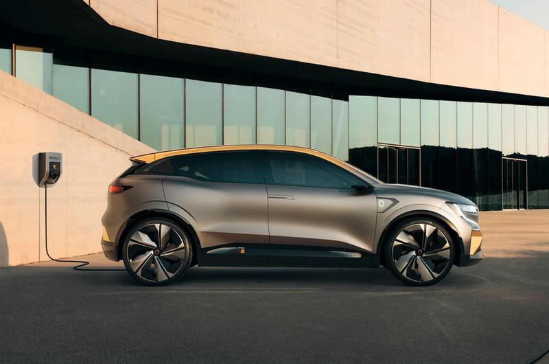 Renault表示屆時Megane eVision量產會保留95%概念車設計。