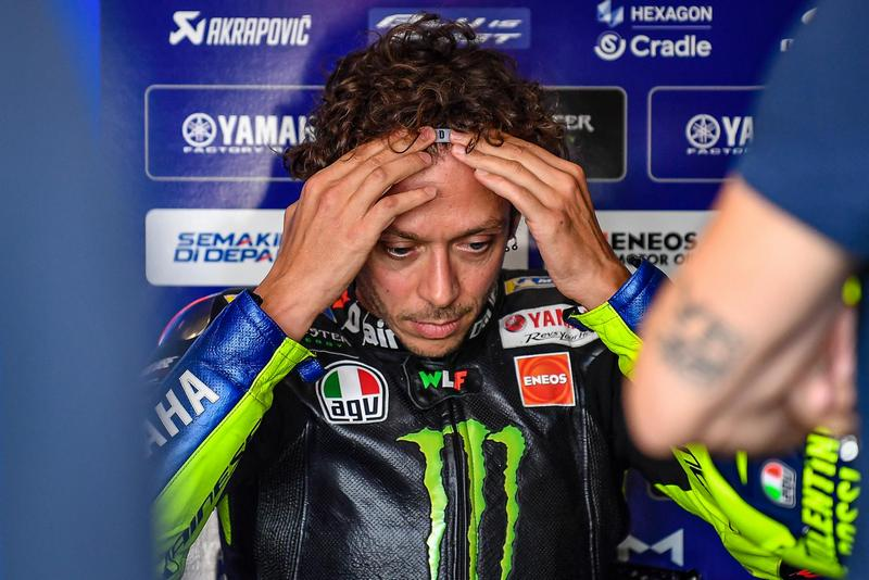 Rossi因感染武漢肺炎,本周與下周賽事都會缺席。