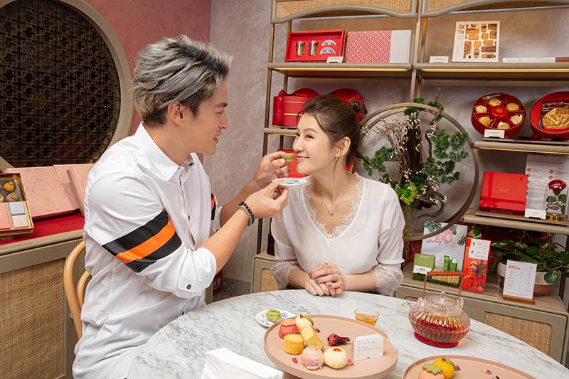 【車勢星聞】趙孟姿、許孟哲甜蜜籌辦婚禮是吃喜餅。