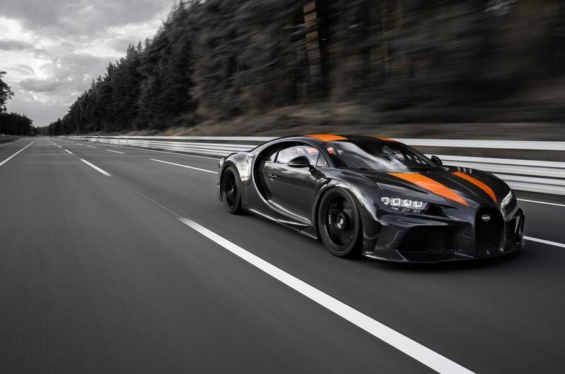 Bugatti表示Chiron於此測試應可達515km/h,但基於安全考量不會來此測試。