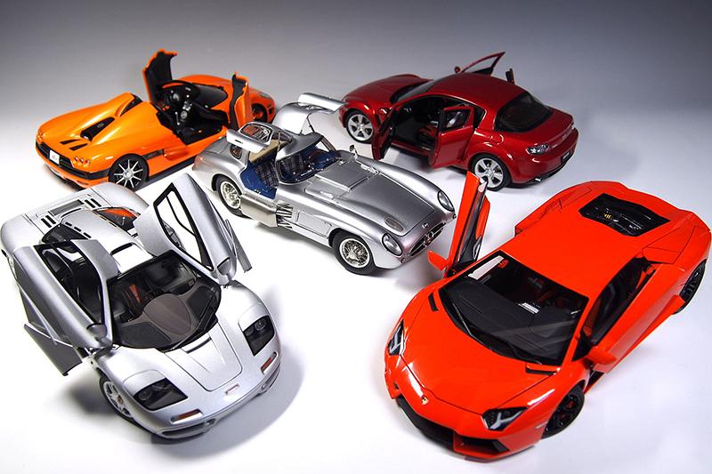 《世界の大模型車展》來台展出, 600台1:18珍藏模型車一次看