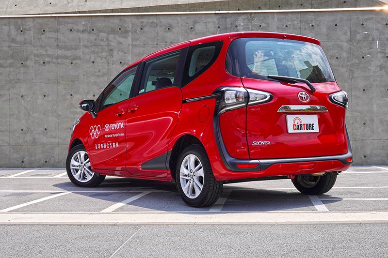 Sienta是目前市場小型MPV唯一選擇。