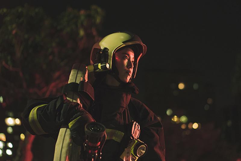 《火神的眼淚》陳庭妮飾演劇中唯一的女性消防員,從拍攝時就有感受到身為消防員的使命感。