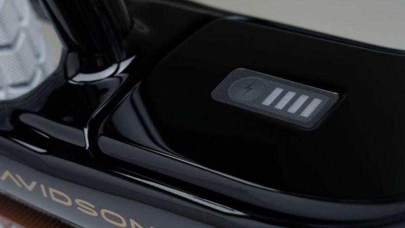 車身上配有電輛顯示。
