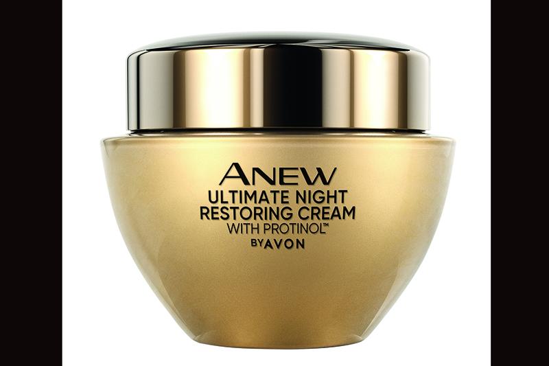 Avon雅芳奇肌之鑰極致賦活晚霜,含Avon獨家專利玻提諾與皇家根皮素精萃。