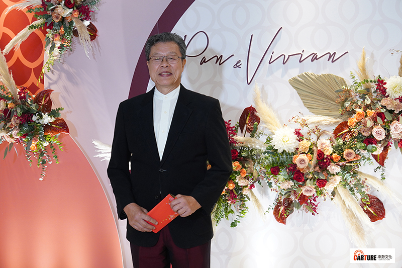【車勢星聞】藝人潘逸安在台北舉辦婚宴,楊烈則受邀擔任證婚人。