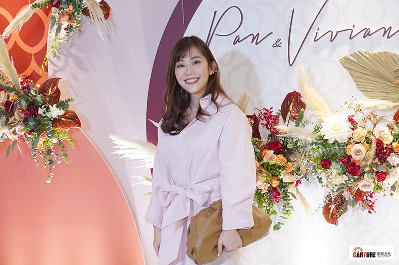 【車勢星聞】王宇婕出席藝人潘逸安台北婚宴。