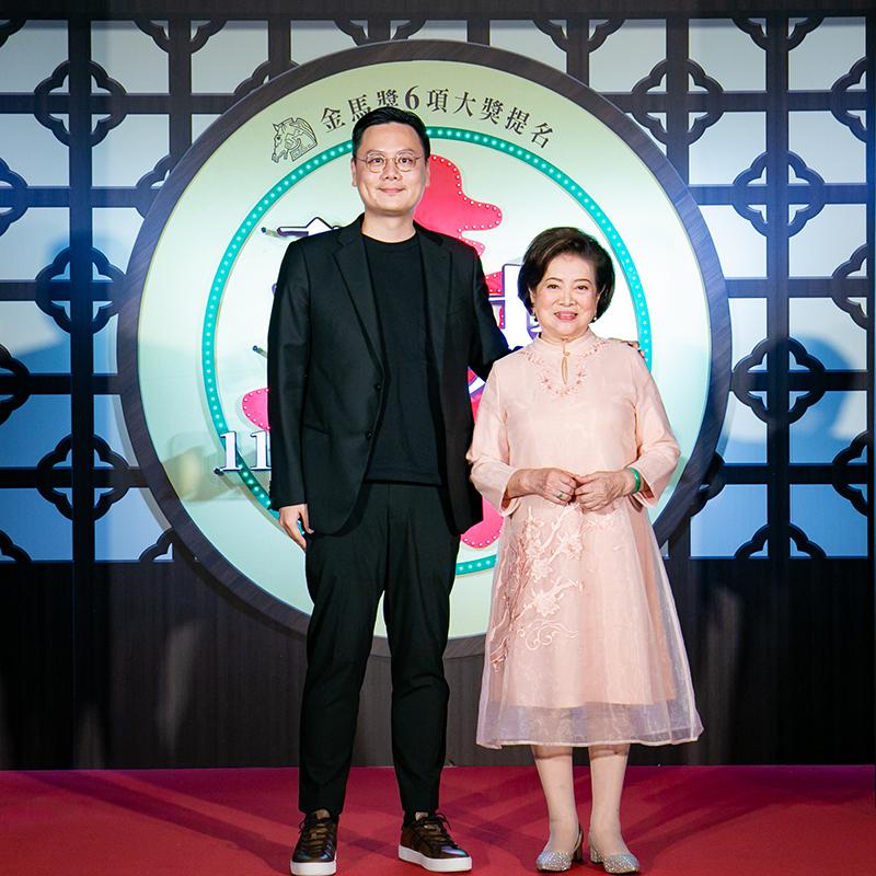 【車勢星聞】《孤味》-導演許承傑、演員陳淑芳齊聚《孤味》首映。/威視電影提供