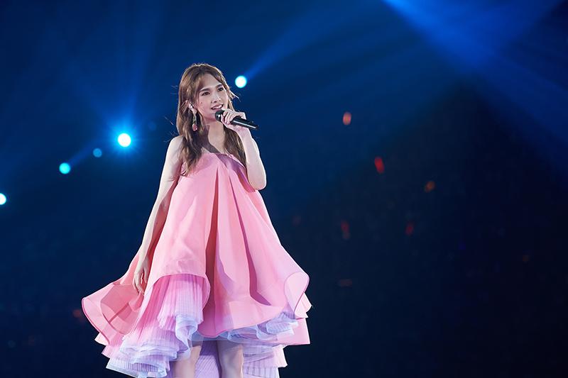 【車勢星聞】楊丞琳一連三天於在台北小巨蛋舉辦《Like A Star》世界巡迴演唱會。/EMI提供