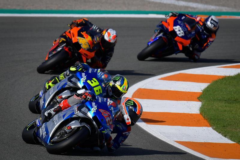 賽事2/3 Rins與Mir都維持穩定圈速但可超越的距離。