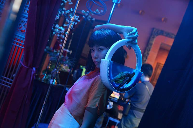 【車勢星聞】《囍宴機器人》主要演員李霈瑜(大霈)表示希望自己能有分身機器人。/綺影提供