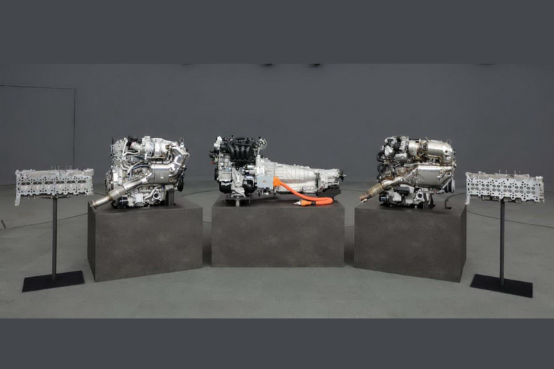 未來四缸引擎車型會有輕油電與PHEV選項。