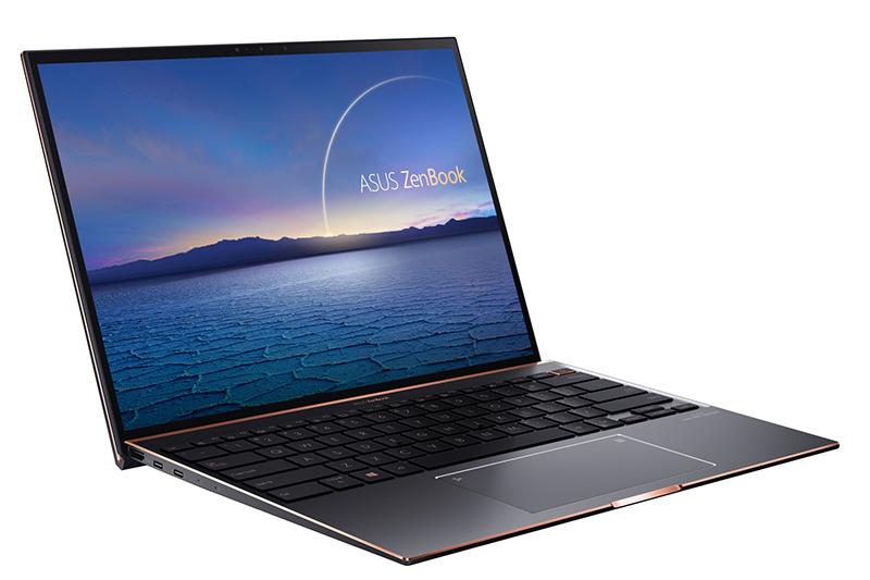 ZenBook S (UX393)採用3比2螢幕,網頁瀏覽與文書處理更有效率。/華碩提供