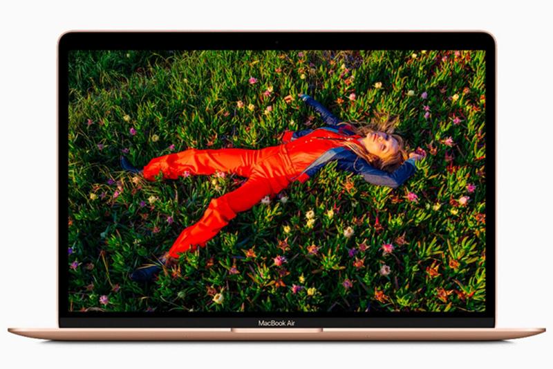 支援 P3 廣色域使 MacBook Air 上的 Retina 顯示器更加鮮明逼真。