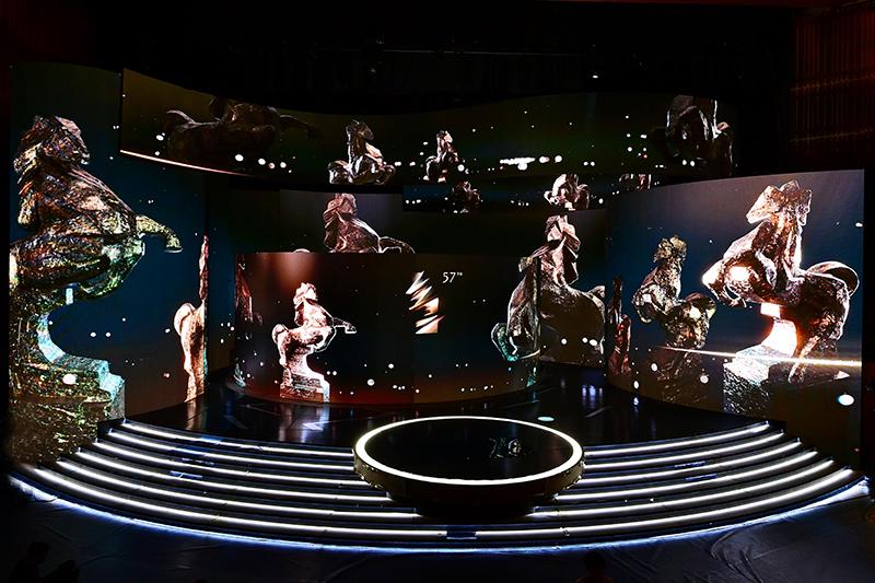 【車勢星聞】第57屆金馬獎完整得獎舞台主視覺。(圖:台視提供)