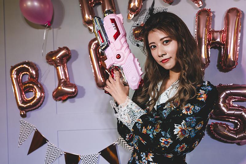 【車勢星聞】日籍藝人阿部瑪利亞在台灣舉辦25歲生日會與粉絲同樂。(圖:麥卡貝提供)
