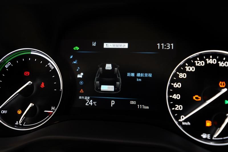 具備243匹最大馬力輸出,並且提供EV /Normal/Eco/Sport四種行駛模式