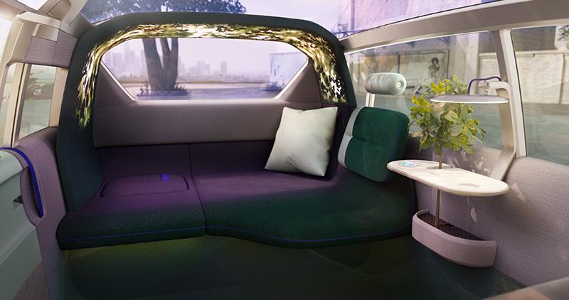 基本上Mini Vision Urbanaut就像你的第二個家,所以不管起居室、發呆亭什麼的,車內都能變出來給你。