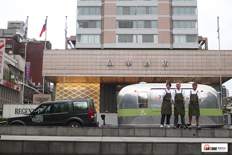【車勢星聞】Line TV《開著餐車交朋友》主持人(左起)宋柏緯、黃秋生、Kid。