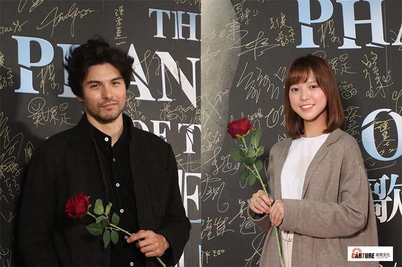 【車勢星聞】《歌劇魅影》鳳小岳(左起)著迷美妙歌曲,項婕如私心學習表演方式。