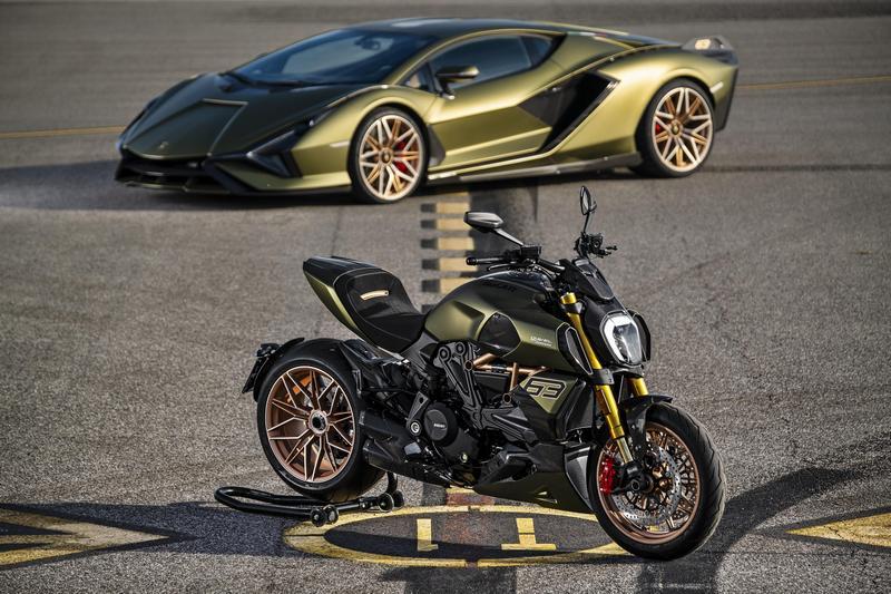 Ducati與Lamborghini合作推出聯名款Diavel 1260。
