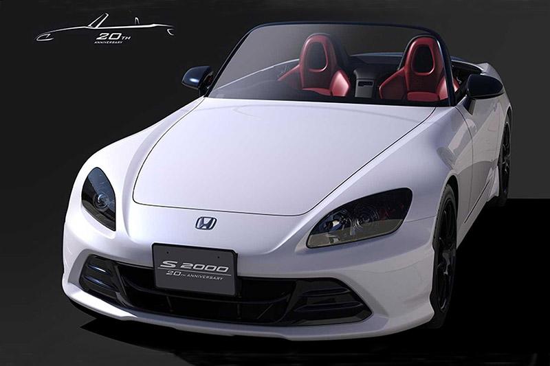 Honda於2019年東京改裝車展帶來S2000 20週年紀念版。