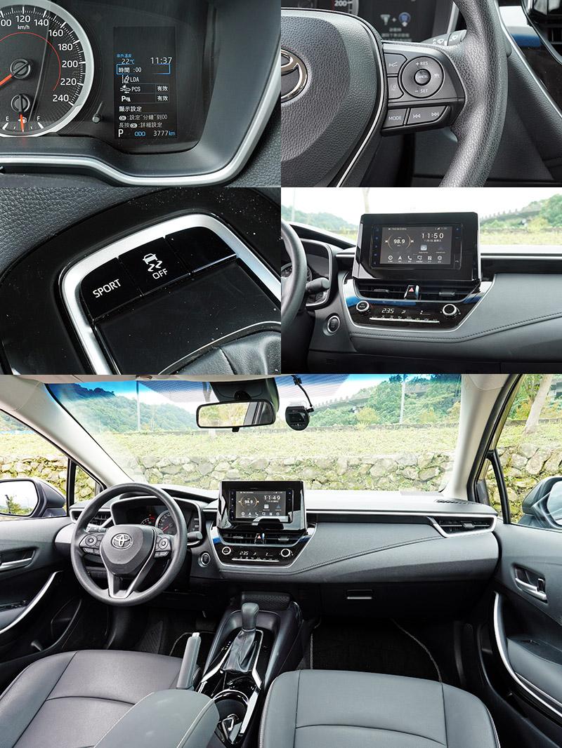 台灣新車銷售王CorollaAltis,就是以該有的都有,中規中矩的設定廣受消費者青睞,若能升級全速域ACC與讓車輛可維持於車道中線的車道維持系統,戰力肯定可以更強。
