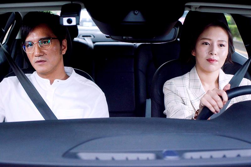 【車勢星聞】《未來媽媽》劉品言(右起)與馬志翔在劇中鬥智。(圖:三立提供)