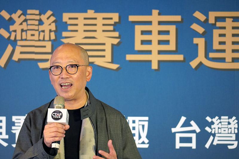 中華車會理事長陳志鴻。