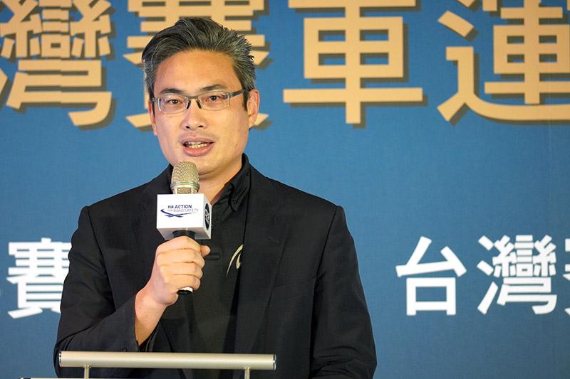 台中市政府運動局局長李昱叡。