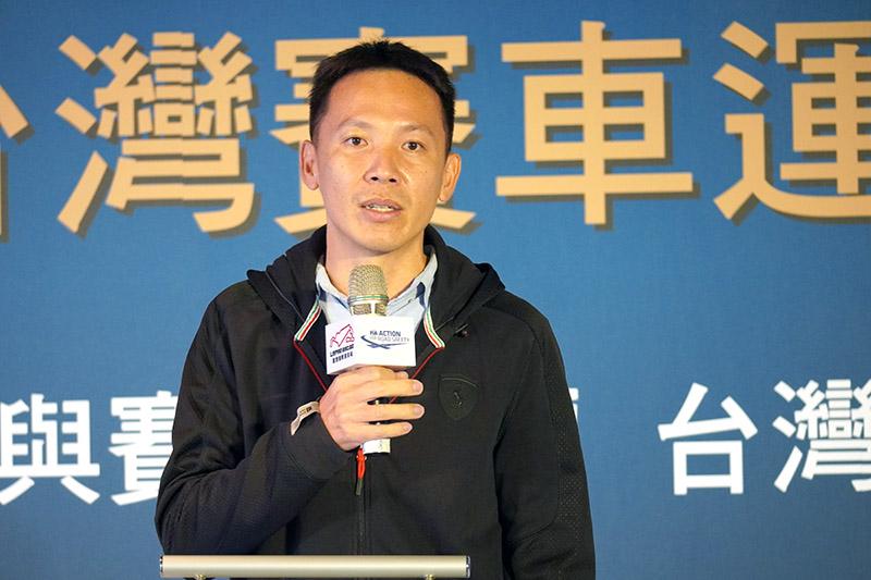 國立台灣體育運動大學教授劉明煌以學界觀點,分享賽車運動與賽車運動發展對學生的影響。