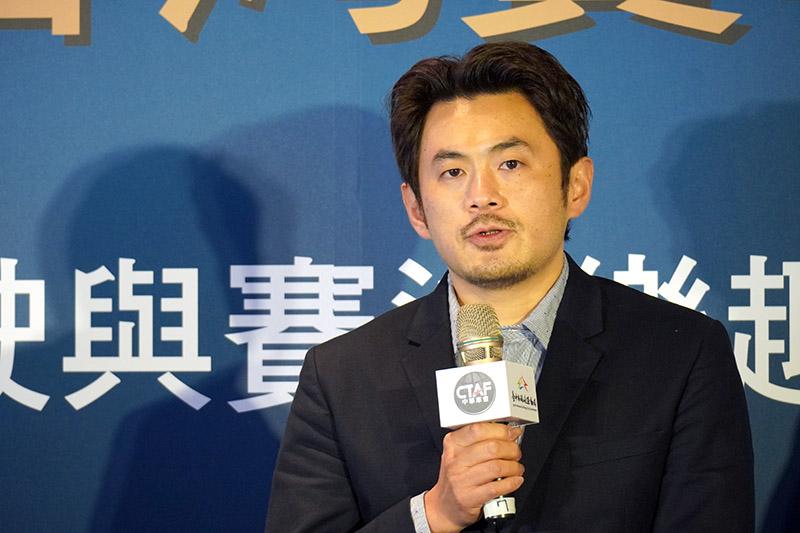 兩度參加法國利曼24小時耐力賽的陳漢承分享參與建立賽車運動產業的經驗。