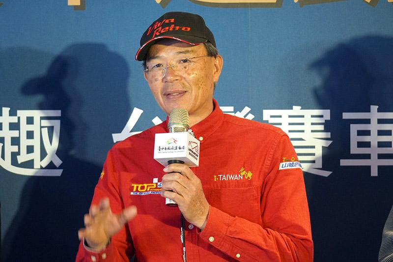 亞洲越野車神陳和皇以在地人身分探討賽車運動對於地方發展的幫助。