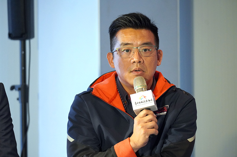 麗寶國際賽車場副總經理陳鋭宏則期望透過地理位置佳的麗寶國際賽車場,帶動台灣賽車運動發展。