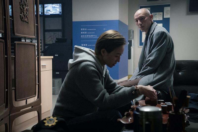 【車勢星聞】張震(右起)與張鈞甯在新戲《緝魂》中飾演夫妻。(圖:威視提供)