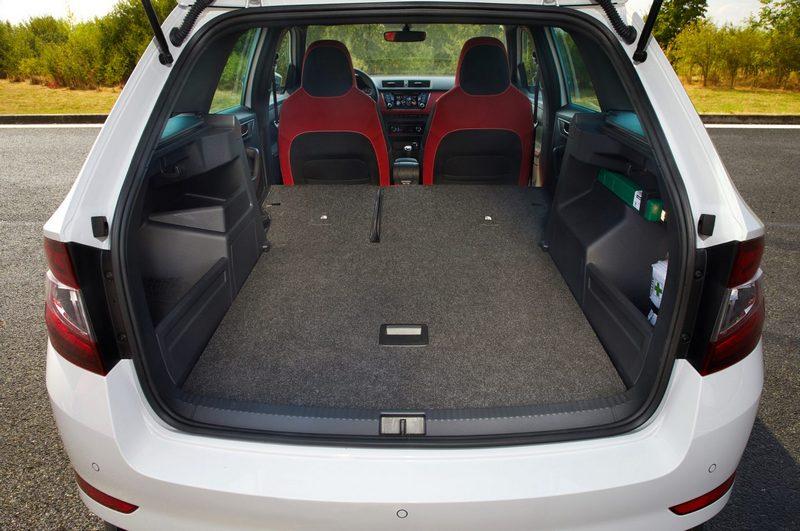 Fabia Combi出色的空間設定與車型於該級距有著獨特性。