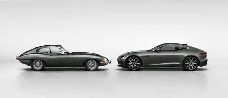 適逢E-Type 60週年Jaguar推出F-Type Heritage 60 Edition向E-Type致敬。