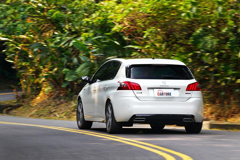 改以1.5L BlueHDi動力的308,輕鬆達成極其搶眼的22.3km/L平均油耗表現!